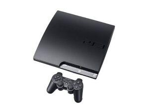 Sony-PlayStation-3-Slim-Latest-Model-160-GB-Charcoal-Black-Console-NTSC