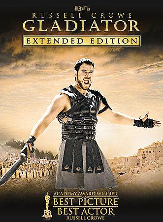 Gladiator (DVD, 2005, 3-Disc Set, Extended Edition) GOOD