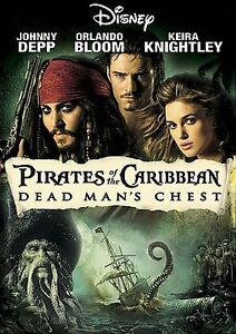 Pirates-of-the-Caribbean-Dead-Mans-Chest-DVD-2006-Widescreen-VERY-GOOD