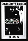American Gangster (DVD, 2008, 3-Disc Set, Collector's Edition; Unrated; Extended) (DVD, 2008)