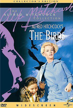 The Birds DVD **VG cond w/insert**  Tippi Hedren
