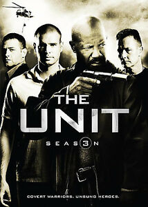 The Unit - Third Season 3 Three (DVD, 2009, 3-Disc Set) - NEW!!