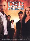 Widescreen CSI: Miami DVDs