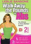 Walk Away the Pounds for Abs with Leslie Sansone 2 in 1 DVD Set (DVD, 2003)