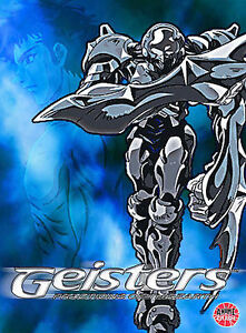 GEISTERS-FRACTIONS-OF-THE-EARTH-Volume-1-rare-Japanese-Anime-dvd-KOJI-ITOHI