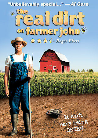 The Real Dirt on Farmer John DVD New Sealed 2008 Gaiam Green