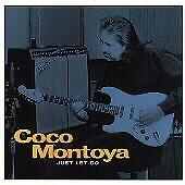 COCO MONTOYA BLIND PIG BLUES CD/JUST LET GO - GREAT BLUES GUITAR