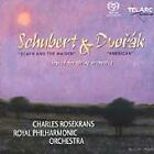 Schubert: Death and the Maiden; Dvorak: American (Scored for String Orchestra) Super Audio Hybrid CD (CD, Jul-2003, Telarc Distribution)