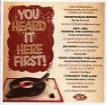 You Heard It First! von Various Artists (2008)
