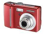 Samsung S630 6.0 MP Digital Camera - Red