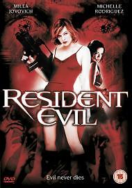 RESIDENT EVil starring Milla Jovovich   DVD - <span itemprop=availableAtOrFrom>Derby, United Kingdom</span> - RESIDENT EVil starring Milla Jovovich   DVD - Derby, United Kingdom
