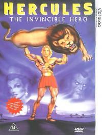 Hercules - The Invincible Hero (DVD, 1999)