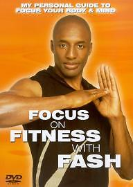 Focus On Fitness With Fash (DVD, 2003)