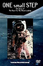 One Small Step (DVD, 2004) Tom Baker-New Wrapped-Free P&P-Moon Landing