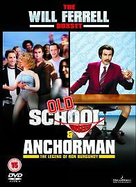 Old School  Anchor Man DVD 2005 2Disc Set Brand New Still Sealed - harwich, Essex, United Kingdom - Old School  Anchor Man DVD 2005 2Disc Set Brand New Still Sealed - harwich, Essex, United Kingdom