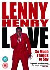 Lenny Henry - Live - So Much Things To Say (DVD, 2005)