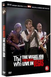 The Who - The Vegas Job (DVD, 2003)
