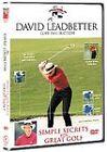 David Leadbetter - Simple Secrets For Great Golf (DVD, 2007)