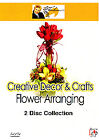 Creative Decor And Crafts - Flower Arranging (DVD, 2007, 2-Disc Set)