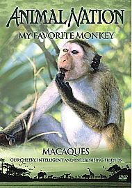 Animal Nation - My Favourite Monkey (DVD, 2007) ** BRAND NEW ** FACTORY SEALED *