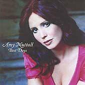 Best Days, Amy Nuttall CD | 0094634312929 | Acceptable