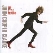 John Cooper-Clarke - Zip Style Method (2007) CD, Album, Remastered