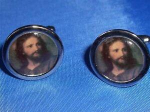 JESUS CHRIST CHRISTIAN RELIGIOUS NEW CUFFLINKS