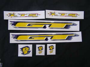 GT-DECALS-LTS-YELLOW-DH-MOUNTAIN-BIKE-STICKERS-NOS
