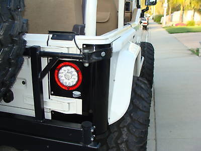 jeep wrangler tj cj yj cj5 cj7 led tail lights clear. Black Bedroom Furniture Sets. Home Design Ideas
