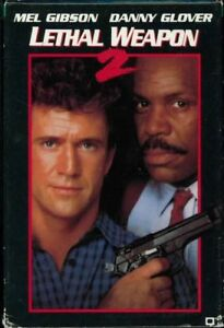 Lethal-Weapon-2-Video-8-Movie-8mm-Mel-Gibson-D-Glover