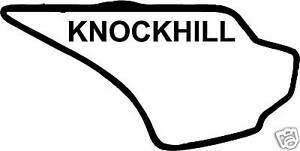 KNOCKHILL-STICKER-DECAL-RACE-CIRCUIT-CAR-TRACK-TOURING