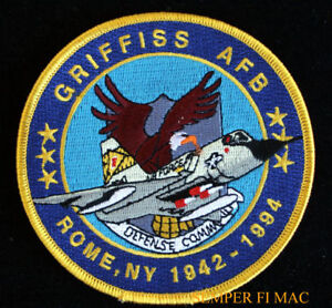 GRIFFISS-AIR-FORCE-BASE-AFB-ROME-NY-1942-1994-PATCH