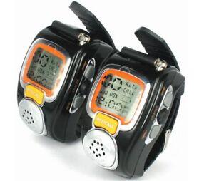 2pcs Two Way Walkie Talkie VOX Radio 22CH  Wrist Watch Style Intercom Talking