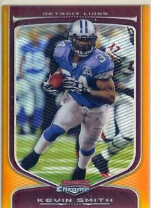 2009-Bowman-Chrome-Gold-Refractor-Kevin-Smith-Lions-20-50