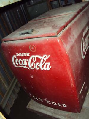 original vintage 2 door flip top coca cola coke cooler ebay