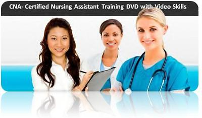 Certified Nursing Assistant / CNA DVD Training with Sample Exam