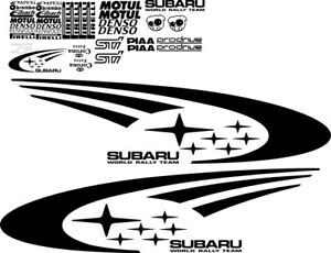 Subaru Wrc Decals