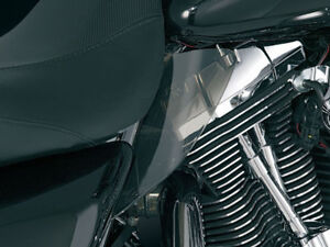 97-07-Harley-Touring-Seat-Engine-Heat-Shields-Kuryakyn-Part-1188