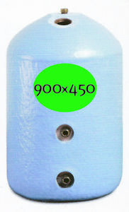 INDIRECT COPPER CYLINDER HOT WATER TANK GRAVITY FED