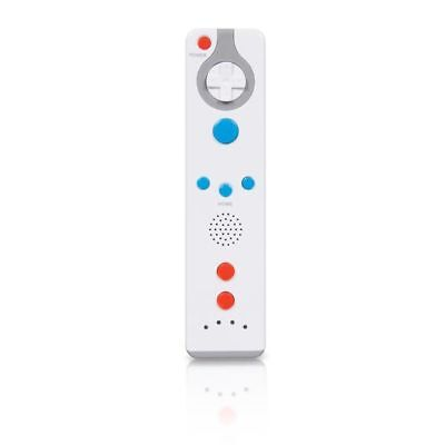 Dreamgear Action Remote Controller Motionplus For Nintendo Wii / Wii U - White