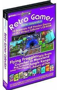RETRO-GAMES-COMPENDIUM-10-PC-Game-Brand-New-Sealed