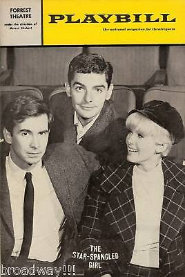 """Anthony Perkins """"STAR-SPANGLED GIRL"""" Connie Stevens 1966 Tryout Playbill"""