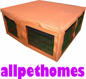 HUGE-PEN-HUTCH-COVER-ONLY-RABBIT-CAGE-GUINEA-PIG-G106