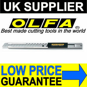 Olfa-SVR-2-9mm-Stainless-Steel-Auto-Lock-Utility-Cutter-Window-Tint-Vinyl-Film