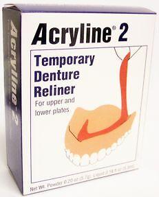 Soft-Denture-Reliner-Kit-Acryline-2-Denture-Liner-FREE-Shipping-SHIPS-TODAY