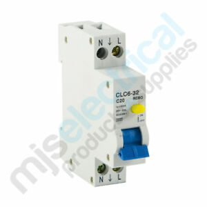 RCD-MCB-Safety-Switch-1-Pole-10A-16A-20A-RCBO-Switchboard-Electrical-Supplies