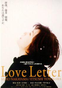Love Letter DVD Shunji Iwai Japan Movie English