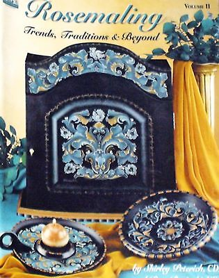 Rosemaling Trends Traditions & Beyond Vol. 2 Peterich Painting Pattern Book
