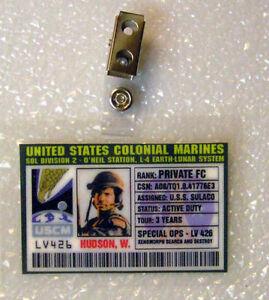 Aliens-ID-Badge-United-States-Colonial-Marines-Hudson
