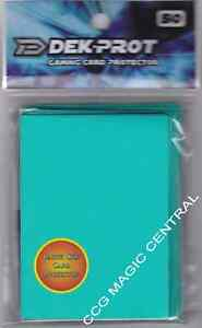 DEK-PROT-CARD-SLEEVES-SEAFOAM-GREEN-FOR-POKEMON-MTG